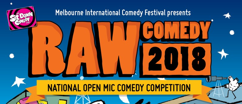 Raw Comedy 2018 – Heat 3