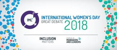 IML International Women's Day Great Debate