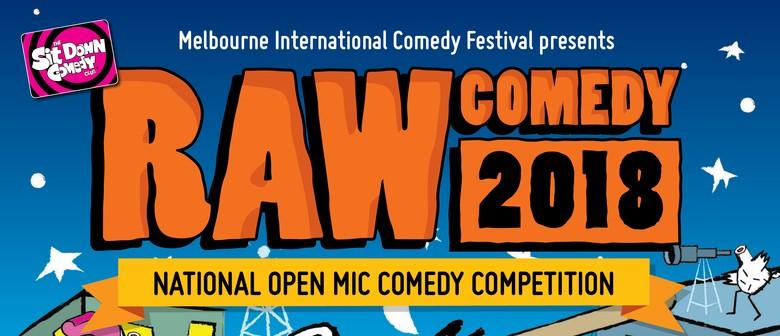 Raw Comedy 2018 – Heat 6