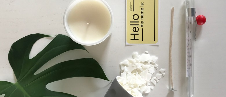 Soy Wax Candle Making
