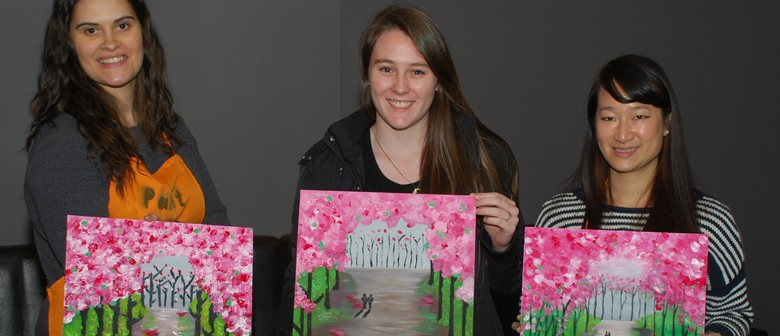 Cherry Blossom – Social Painting Class