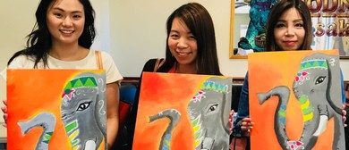 Elephant Painting for Beginners