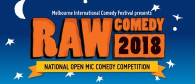 Raw Comedy 2018 WA Final