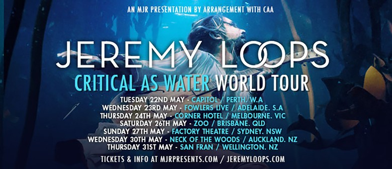 Jeremy Loops – Critical As Water World Tour