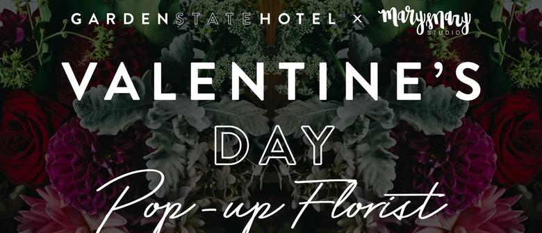 Valentine's Day Pop-Up Florist