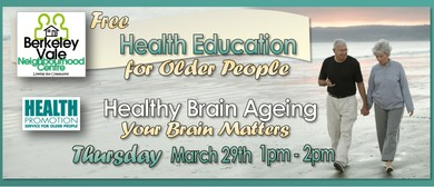 Health Education for Older People – Healthy Brain Ageing