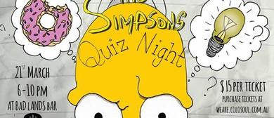 Simpsons Quiz Night