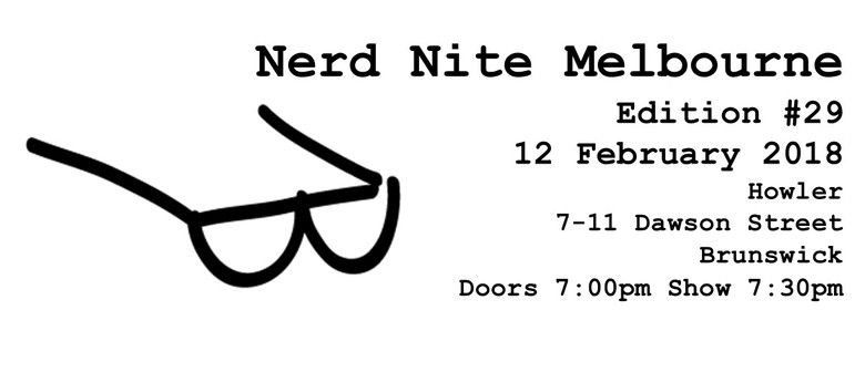 Nerd Nite Edition No. 29