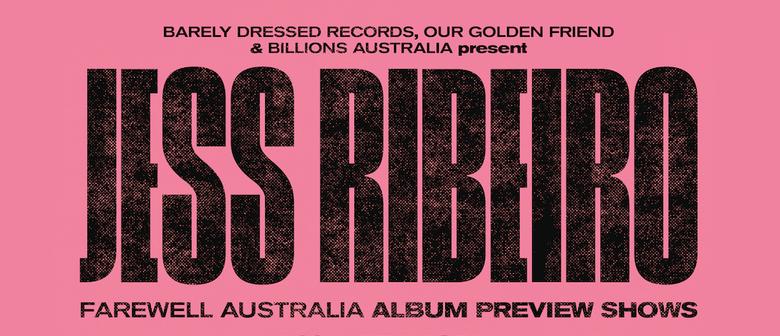 Jess Ribeiro Album Preview – SXSW Fundraiser