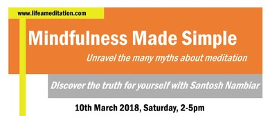 Mindfulness Made Simple – A 3-Hour Event