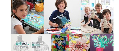 Autumn School Holiday Art Workshops for Kids 5–12 Years