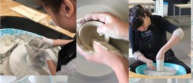 Pottery Wheel Throwing Beginner 3-Part Package