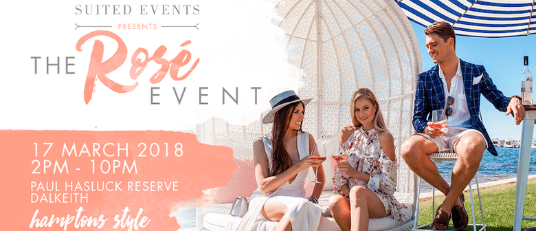 Suited - The Rosé Event 2018
