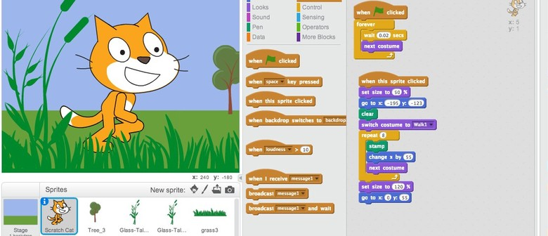 Kids Scratch Programming - Fun Coding!