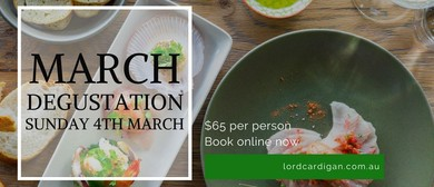 March Degustation