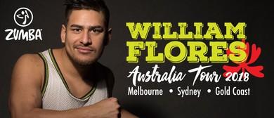 William Flores Zumba MC & Reggaeton Workshop Australia Tour