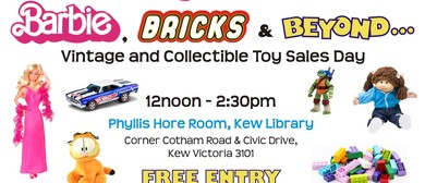 Barbie, Bricks and Beyond Toy Sale