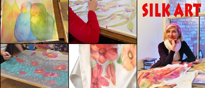 Silk Painting - Beginners Course (4 Weeks)