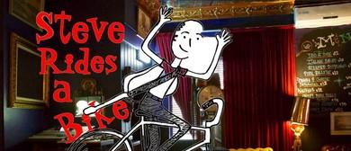 Steve Rides a Bike