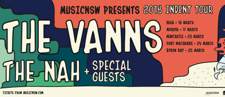 Indent All-Ages Tour – The Vanns, The Nah and Wharves