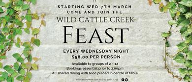 Wild Cattle Creek Feast