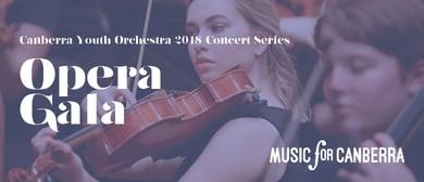 Canberra Youth Orchestra Opera Gala