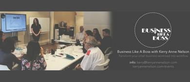 Business Like a Boss Workshop