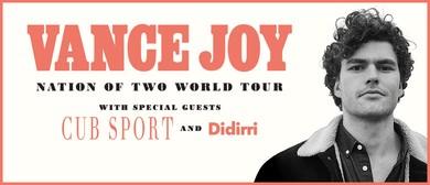 Vance Joy – Nation of Two World Tour