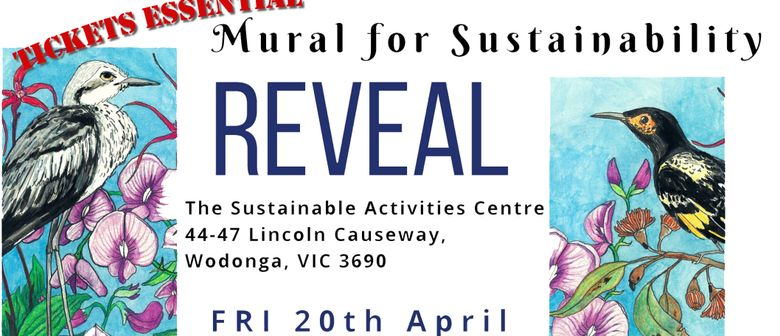 Mural for Sustainability Reveal