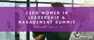 23rd Women in Leadership & Management Summit