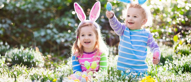 Giant Easter Bunny Hunt