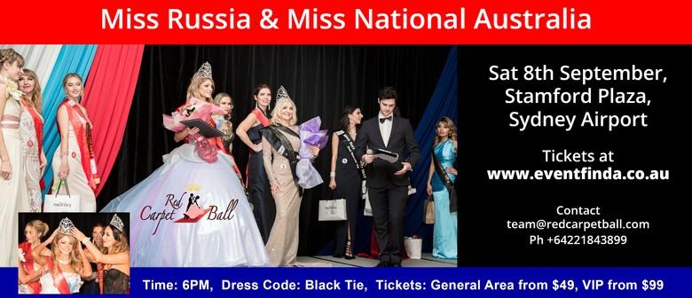 Miss Russia AU & Miss National AU 2018