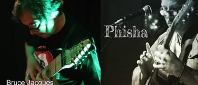 Bruce Jacques + Phisha