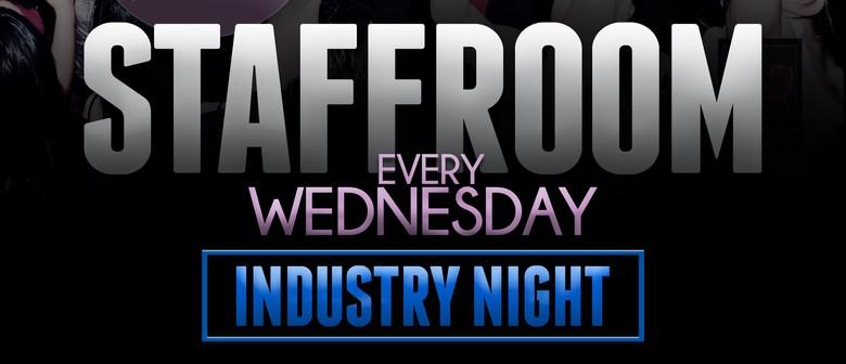 Staffroom Every Wednesday Industry Night