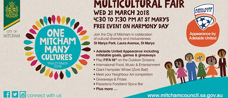 One Mitcham Many Cultures Harmony Day Fair - Adelaide