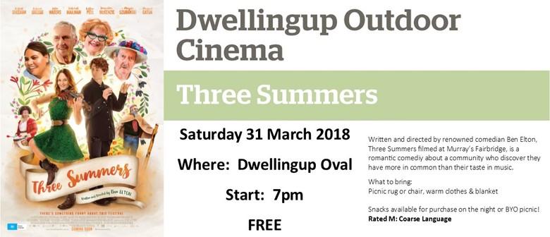 Dwellingup Outdoor Cinema – Three Summers