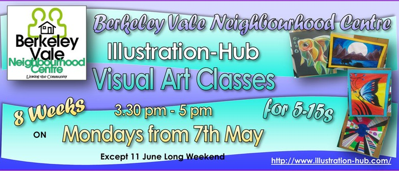 8-Week Visual Art Classes for 5–15s