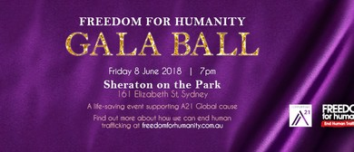 Freedom for Humanity Gala Ball