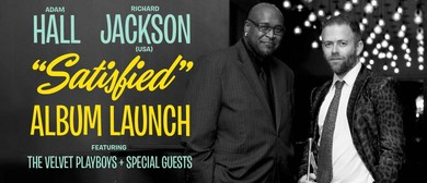 CD Launch – Adam Hall & Richard Jackson