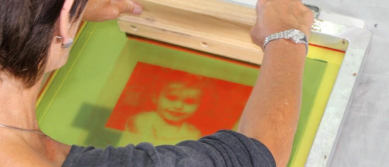 Silkscreen Print Weekend Workshop