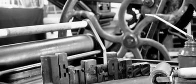 Letterpress Workshop With Fluid Ink Letterpress