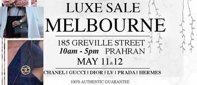 Melbourne Luxe Designer Sale
