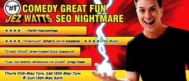 No. 1 Comedy Great Fun Jez Watts – Sydney Comedy Festival