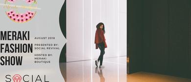 Meraki Fashion Show 2018