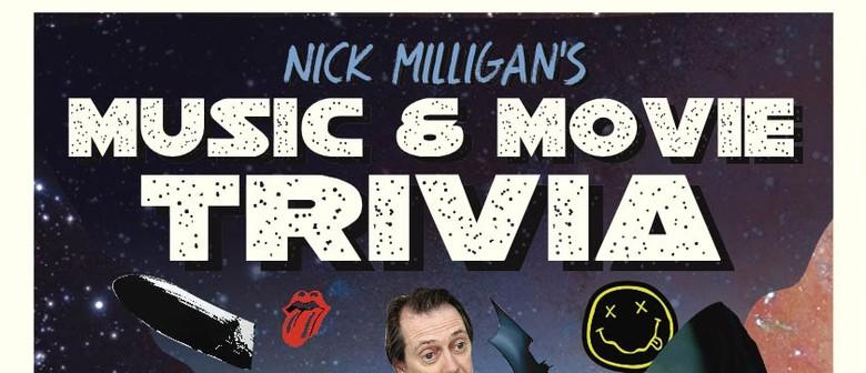 Nick Milligan's Music and Movie Trivia