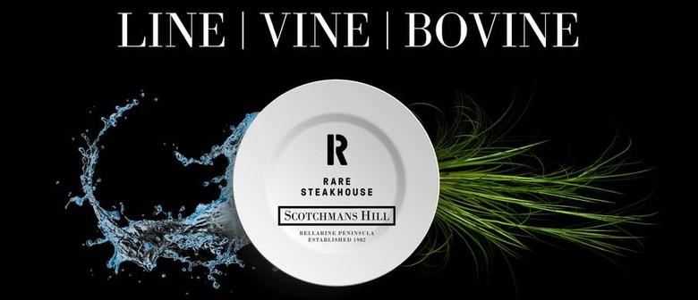 Line, Vine and Bovine Dinner