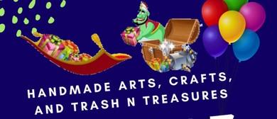 Handmade Arts & Crafts Plus Trash N Treasures