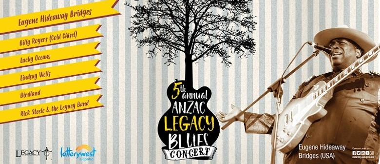ANZAC Legacy Blues Concert 2018