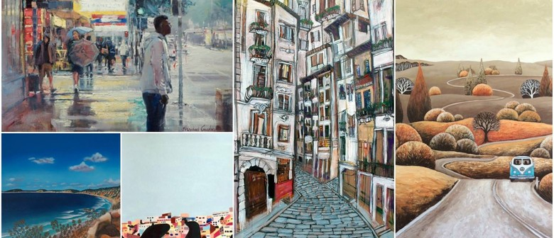 Landscapes, Seascapes & Streetscapes Exhibition