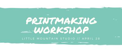 Creative Printmaking Workshop – Monoprinting W/ Woodblocks